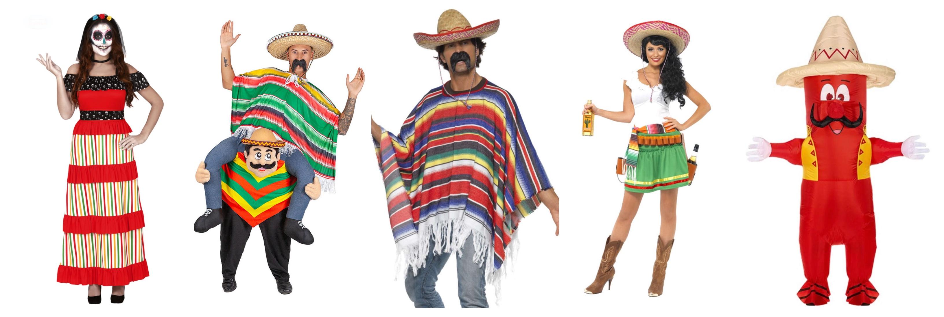 mexicaner kostumer til voksne - Mexicaner kostume til voksne