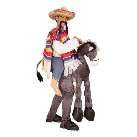 mexicaner med æsel kostume 450x450 - Mexicaner kostume til voksne