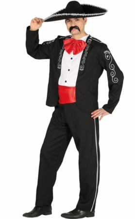 mexicaner voksen kostume 278x450 - Mexicaner kostume til voksne
