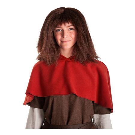 ronja røverdatter paryk 450x450 - Ronja Røverdatter kostume til børn og voksne