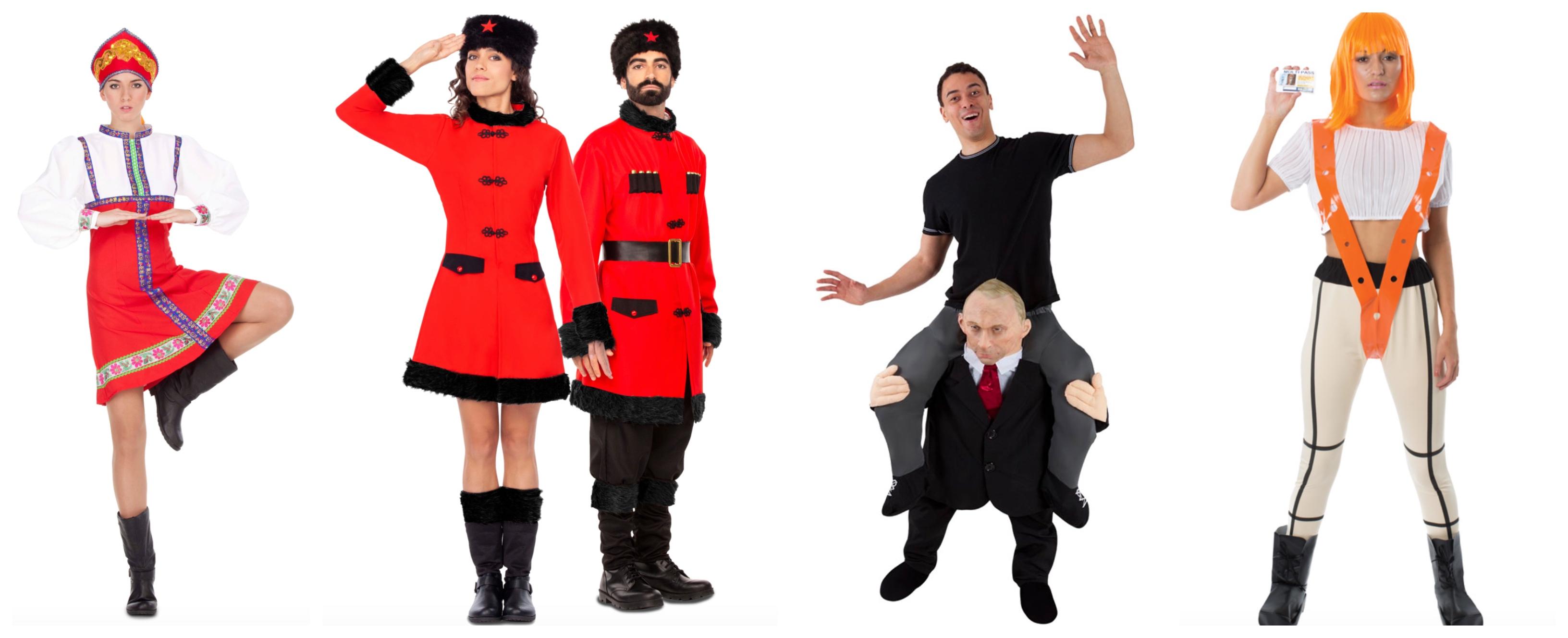 russisk kostume - Russisk kostume til voksne