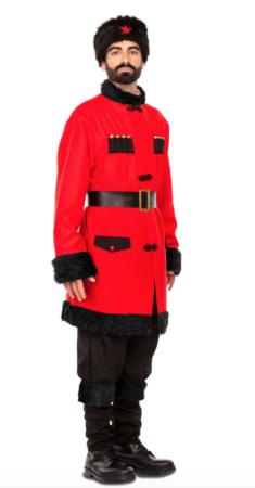russisk soldat kostume til mænd 235x450 - Russisk kostume til voksne