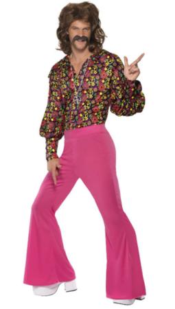 sej disko konge kostume til mænd 70erne kostume til mænd