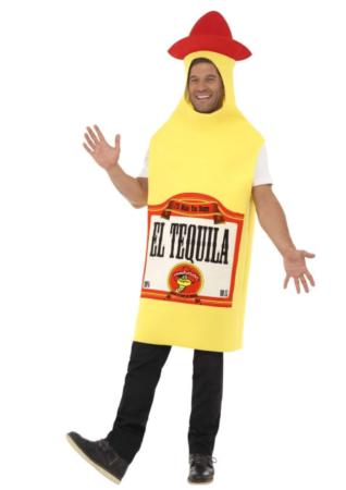 tequila flaske kostume 318x450 - Mexicaner kostume til voksne