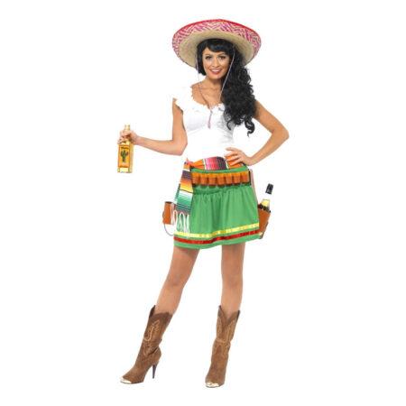 tequilas girl kostume 450x450 - Mexicaner kostume til voksne