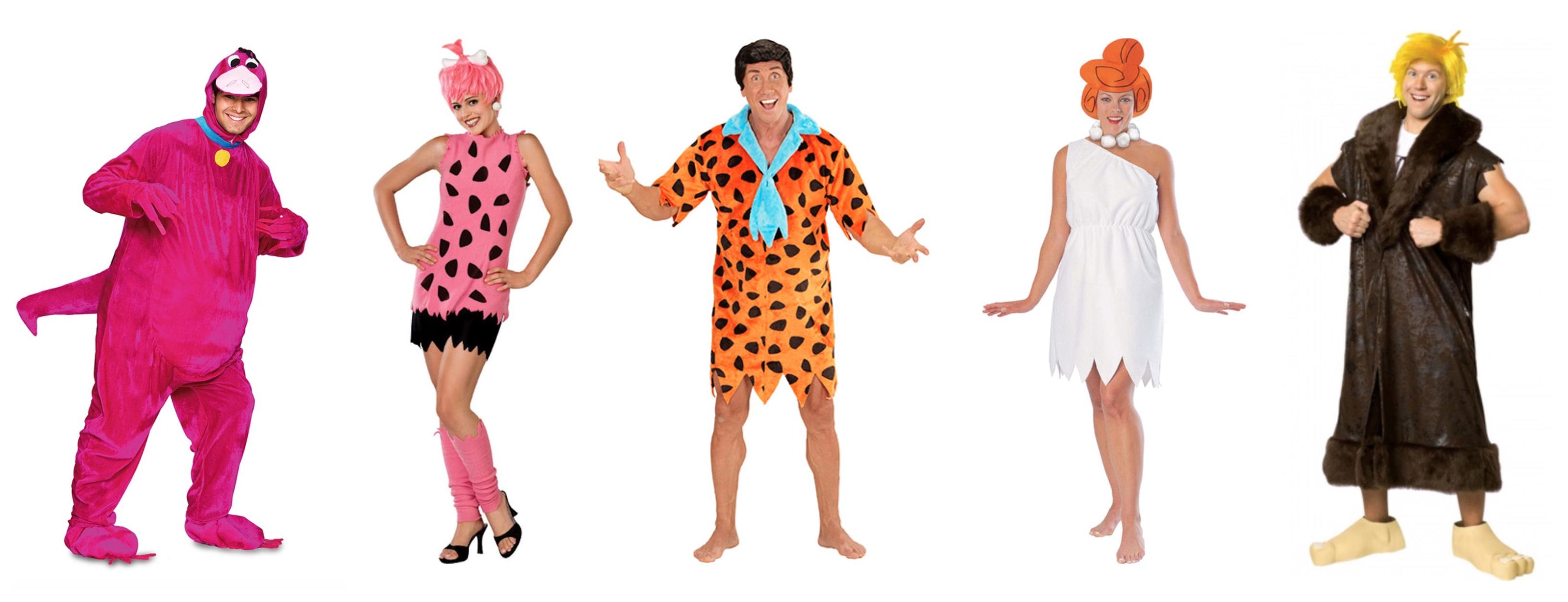 the flintstones kostume til voksne - Flintstones kostume til voksne