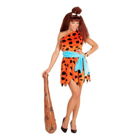 wilma flintstones kostume til kvinder 450x450 - Flintstones kostume til voksne