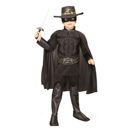zorro børnekostume 450x450 - Zorro kostume til børn - den maskerede hævner
