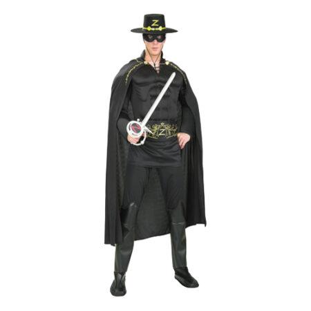 zorro kostume til voksne 450x450 - Zorro kostume til voksne