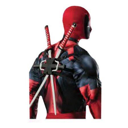 deadpool våben kostume til voksne