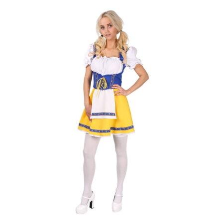 svensk nationaldragt svensk folkedragt udklædning svensk kostume til voksne