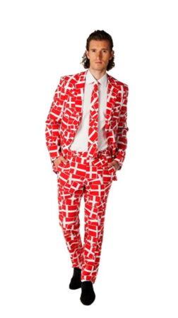 roligan jakkesæt danske flag jakkesæt dansk nationsdragt til mænd roligan jakkesæt danmark jakkesæt national folkedragt danmark