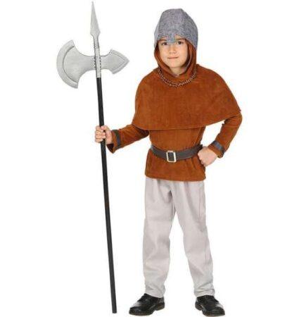 Middelalder kriger børnekostume 425x450 - Middelalder kostume til børn