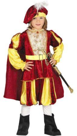 Middelalder prins børnekostume 254x450 - Middelalder kostume til børn