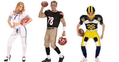 USA amerikansk kostume NFL kostume amerikansk fodboldspiller kostume amerikansk fodbold kostume 390x205 - Amerikansk fodbold kostume til voksne