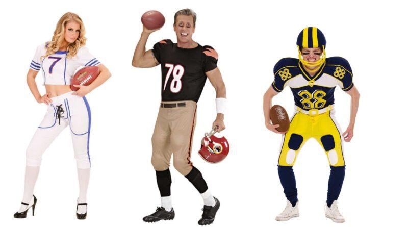 USA amerikansk kostume NFL kostume amerikansk fodboldspiller kostume amerikansk fodbold kostume 800x445 - Amerikansk fodbold kostume til voksne