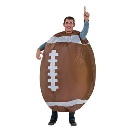 amerikansk fodbold kostume til voksne oppustelig kostume til voksne sportskostume