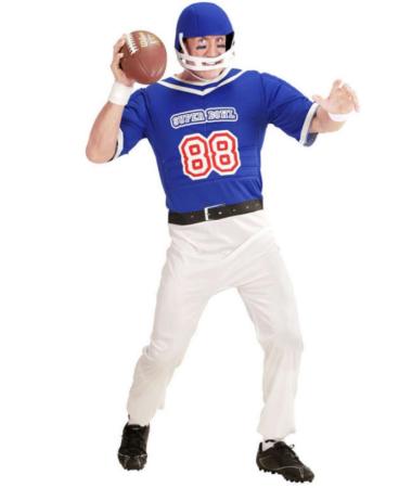 amerikansk fodboldspiller kostume amerikansk fodbold udklædning amerikansk kostume sportskostume pitcher kostumer kaster kostume