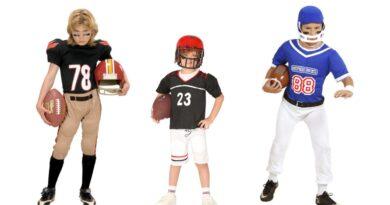 amerikansk fodboldspiller kostume til børn amerikansk udklædning amerikansk fodboldspiller børnekostume NFL kostume til drenge 390x205 - Amerikansk fodbold kostume til børn