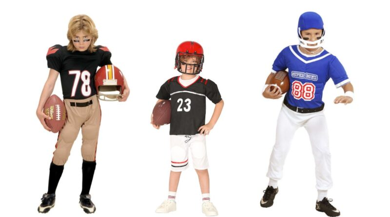 amerikansk fodboldspiller kostume til børn amerikansk udklædning amerikansk fodboldspiller børnekostume NFL kostume til drenge 800x445 - Amerikansk fodbold kostume til børn