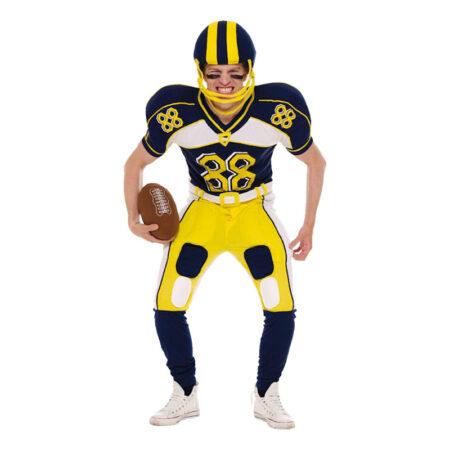 amerikansk kostume amerikansk fodbold kostume USA sportskostume til voksne USA udklædning