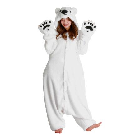 isbjørn kigurumi 450x450 - Kigurumi til voksne - heldragt til voksne