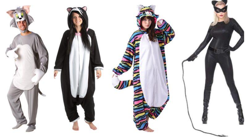 katte kostume til voksne, kat voksenkostume, katte udklædning ti voksne, katte kigurumi til voksne, kat dyrekostume til voksne, katte kostume til mænd, katte kostume til kvinder, unisex katte kostume, katte kostume til fastelavnsfest, katte kostume budget, stribet katte kostume