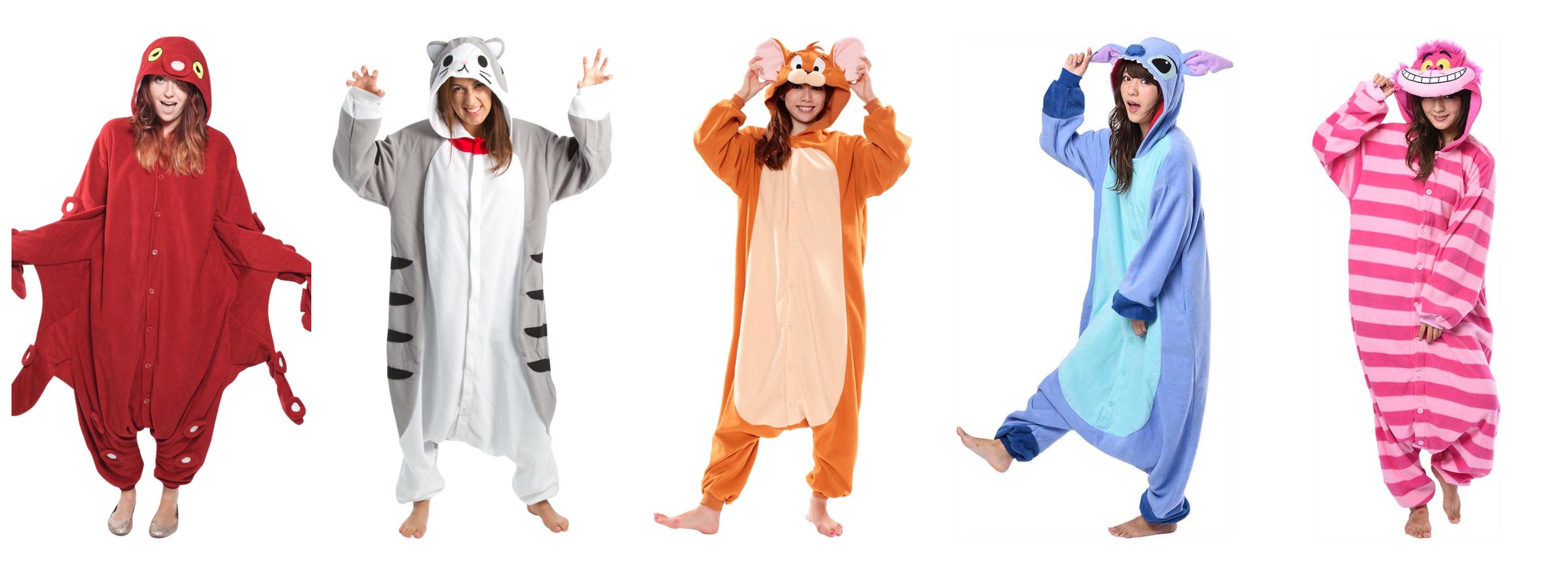 kigurumi kostume til voksne - Kigurumi til voksne - heldragt til voksne