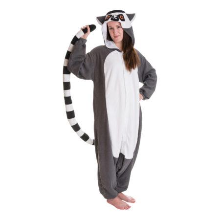 lemur kigurumi 450x450 - Kigurumi til voksne - heldragt til voksne