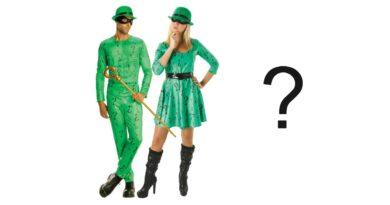 riddler kostume til voksne sidste skoledag kostume grønt kostume gækker kostume 390x205 - Riddler kostume til voksne