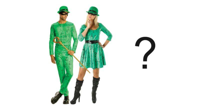 riddler kostume til voksne sidste skoledag kostume grønt kostume gækker kostume 800x445 - Riddler kostume til voksne