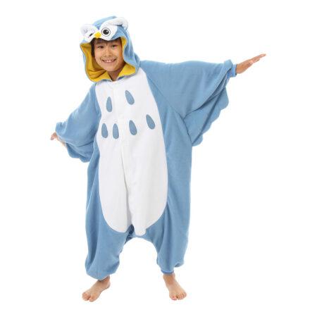 ugle børnekigurumi 450x450 - Kigurumi til børn - sjov heldragt til børn