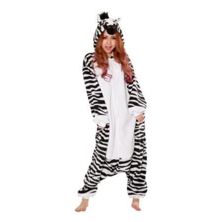 zebra kigurumi heldragt til voksne 450x450 - Kigurumi til voksne - heldragt til voksne