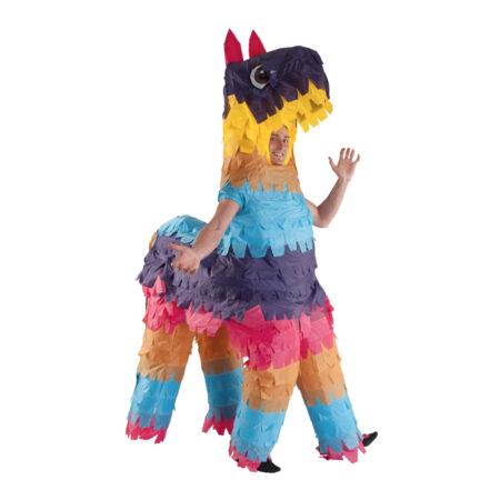 oppustelig kostume til voksne polterabend kostume festligt kostume farverigt kostume rustur kostume