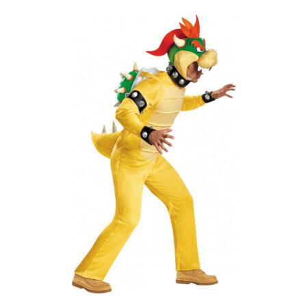 bowser kostume til voksne mario fjende kostume antihekt kostume super mario