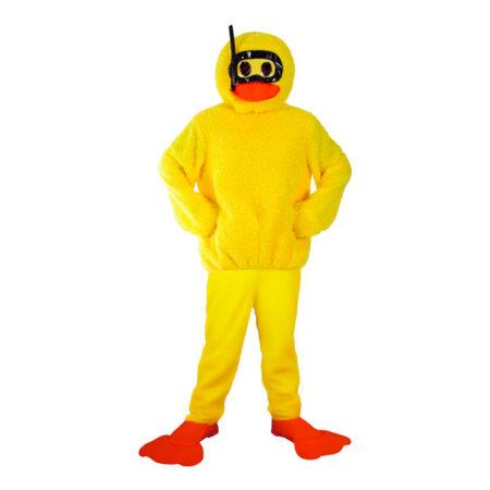 Badeand kostume til voksne 450x450 - Gule kostumer til voksne
