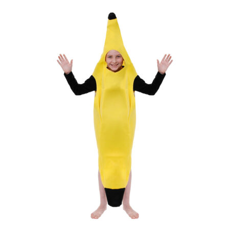 Banan børnekostume 450x450 - Gule kostumer til børn