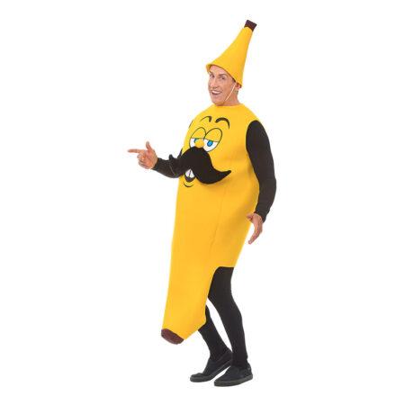 Banan kostume til voksne 450x450 - Gule kostumer til voksne
