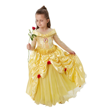 Belle børnekostume 450x450 - Gule kostumer til børn