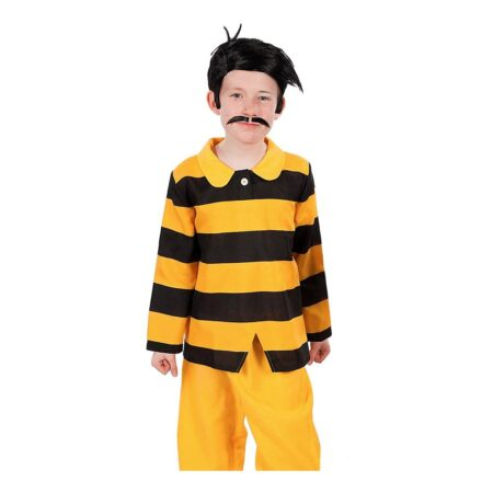Dalton brødrene børnekostume 450x450 - Gule kostumer til børn