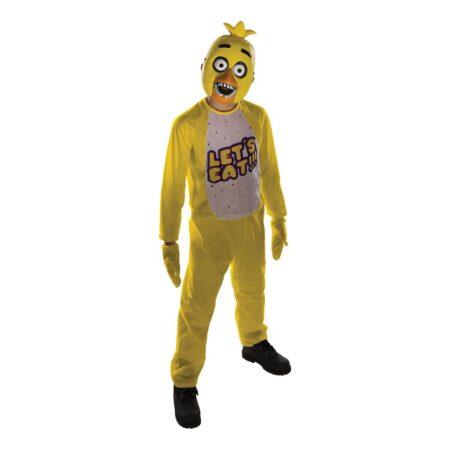 FIVE NIGHTS AT FREDDYS CHICA BØRNEKOSTUME 450x450 - Gule kostumer til børn