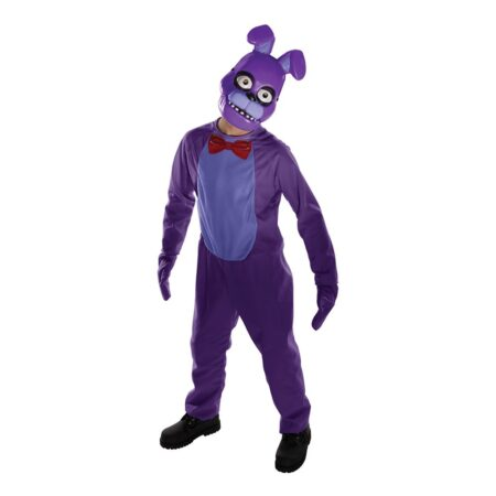 Five Nights at Freddys Bonnie Børnekostume 450x450 - Lilla kostumer til børn