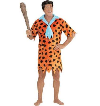 Fred flintstones orange kostume til voksne 422x450 - Orange kostumer til voksne
