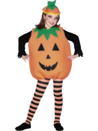 Græskar kostume til børn 338x450 - Orange kostumer til børn