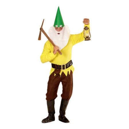 Gul dværg kostume  450x450 - Gule kostumer til voksne