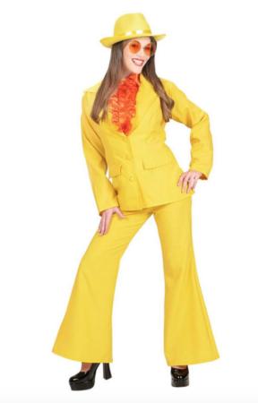 Gult kostume til kvinder 288x450 - Gule kostumer til voksne