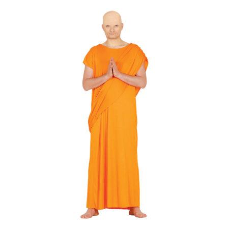 Hare Krishna Munk Kostume 450x450 - Orange kostumer til voksne