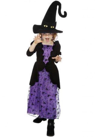 Lilla heks børnekostume 314x450 - Lilla kostumer til børn