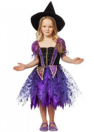 Lilla heks kostume til børn 319x450 - Lilla kostumer til børn