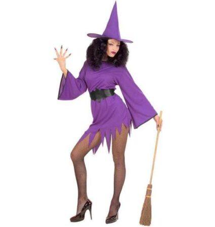 Lilla hekse kostume til voksne 425x450 - Lilla kostumer til voksne
